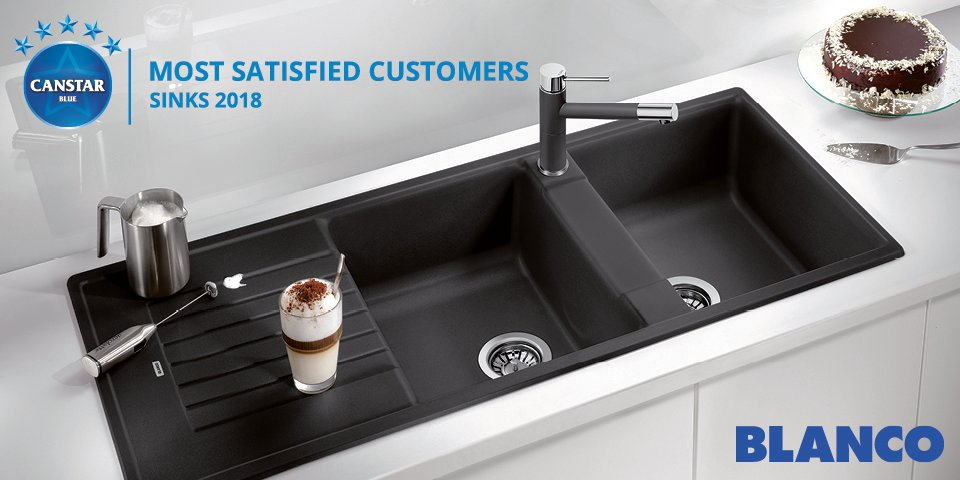 Blanco Sinks awarded Canstar Most Satisfied Customers 2018