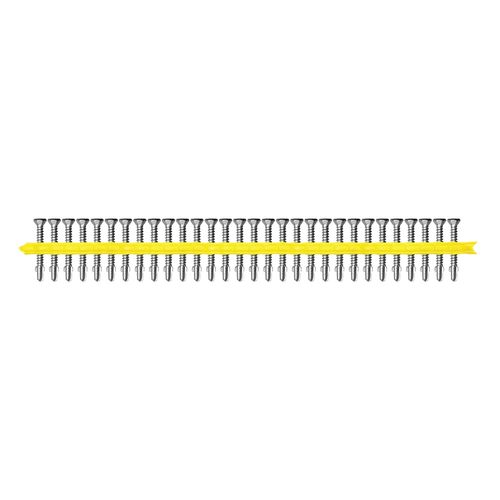 Simpson Strong-Tie 10g x 55mm Quik Drive Cement Sheet / Timber To Steel Collated Screws - 1000 Pack