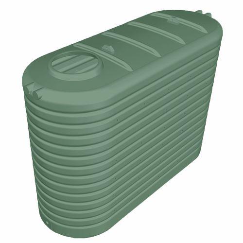 Clark Tanks 5000L Slim Poly Water Tank - Rivergum
