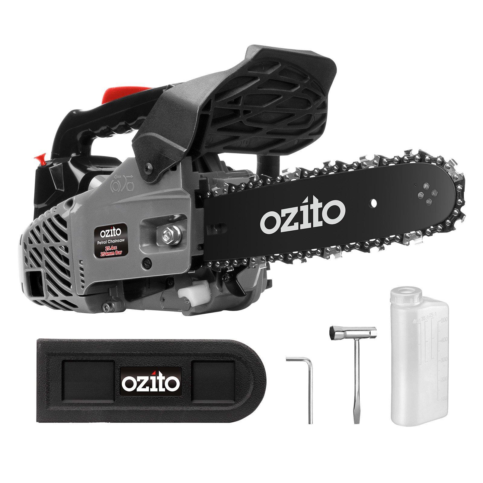 Ozito 25.4cc 254mm 2 Stroke Petrol Chainsaw