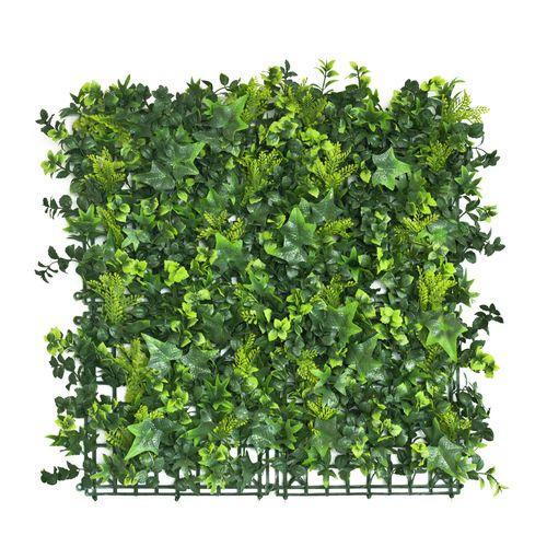UN-REAL 50 x 50cm English Elm Artificial Hedge Tile