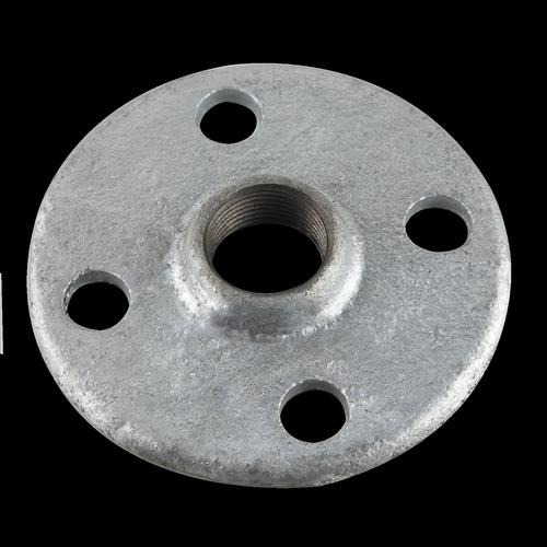 Brasshards Galvanised Round Flange With 15mm Drill Mall