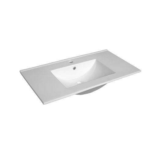 Mondella Rococo 900mm Ceramic Vanity Basin With 1 Tap Hole