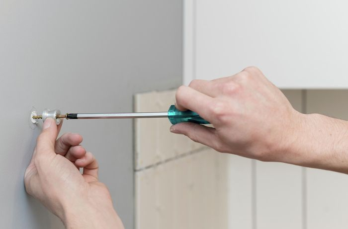 how to install a heated towel rail