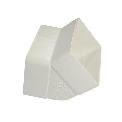 Icon Plastics 100 x 50mm 45° Socket Bend