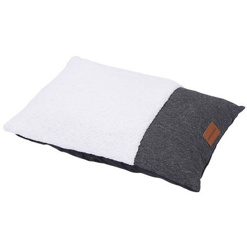 Paws & Claws 90x60cm Medium Primo Pillow Pet Dog Bed Sleeping Cushion Charcoal