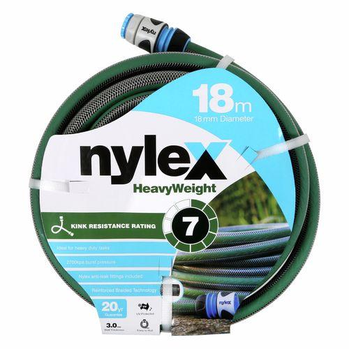 Nylex 18mm x 18m Heavyweight Garden Hose
