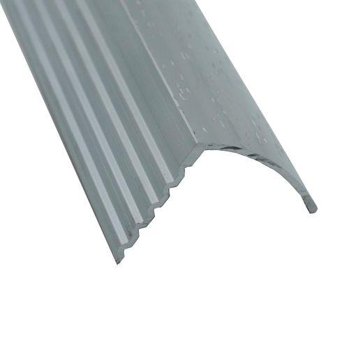 Roberts 3.3m Hammerless Stairnose Trim - 10 Pack - Silver