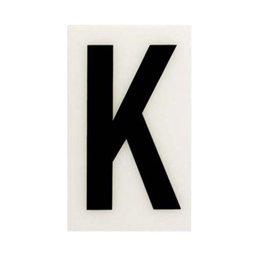 Sandleford 60 x 35mm K White Self Adhesive Letter