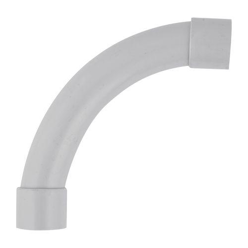 Deta 32mm Grey Conduit Fittings 90° Standard Bend