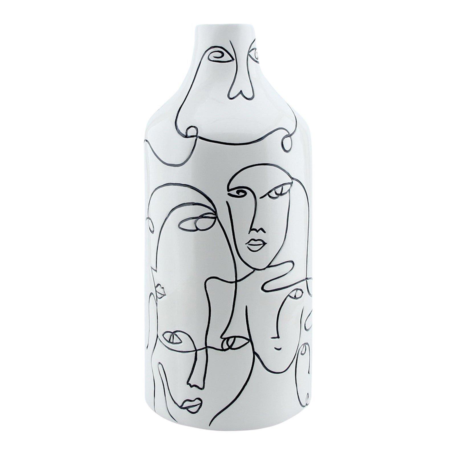 Faces Vase