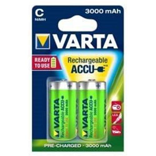 Varta C Rechargable Batteries