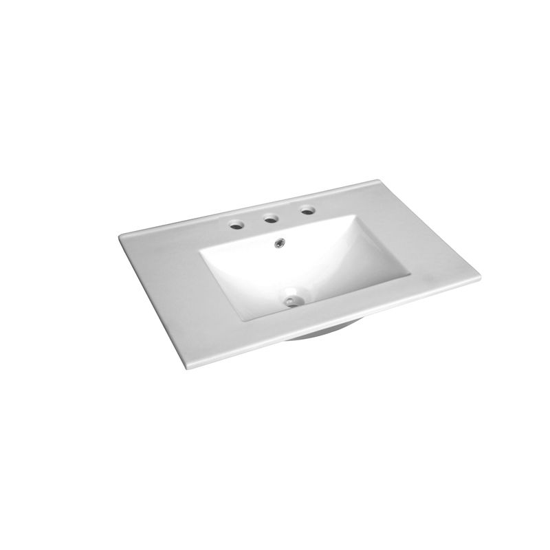 Cadenza 750mm Ceramic Basin Only 3TH