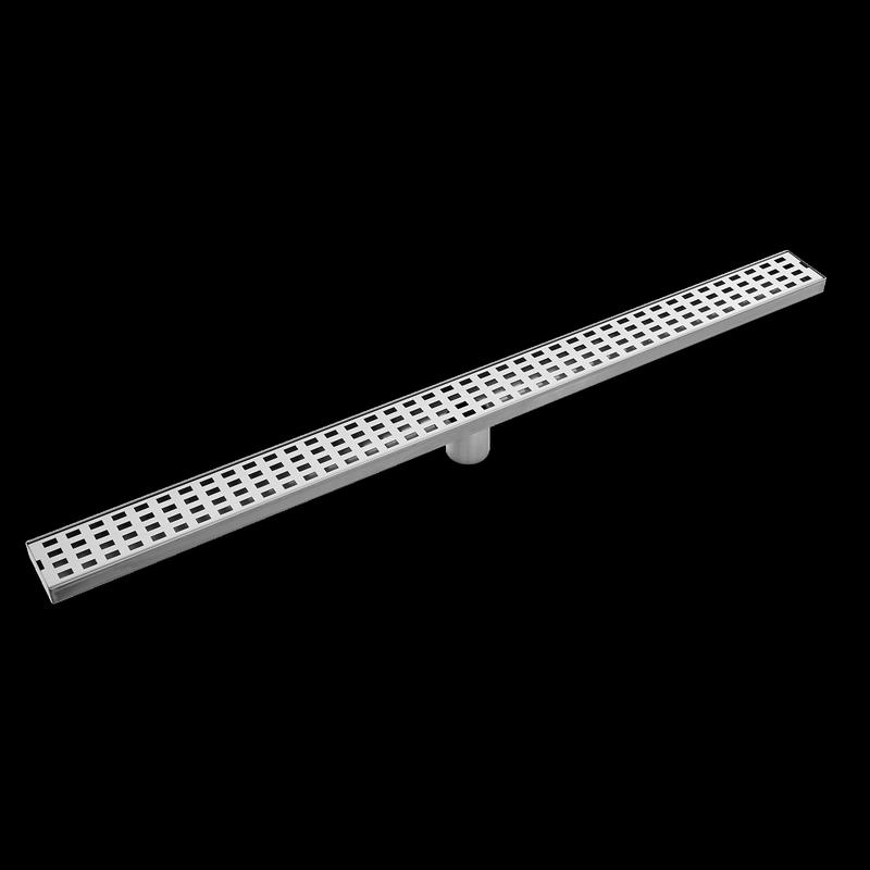 Rococo 900mm Stainless Steel Rectangular Floor Grate