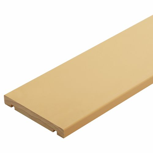 135 x 18mm H3.1 Pre Primed Finger Jointed Pine Fascia Board - Per Linear Metre