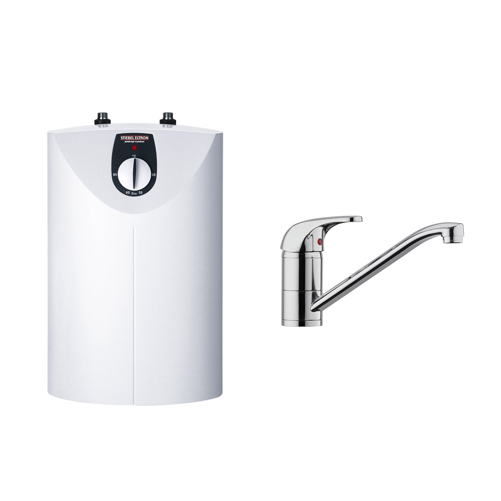STIEBEL ELTRON SNU 5 Open Vented Water Heater With MES Tap