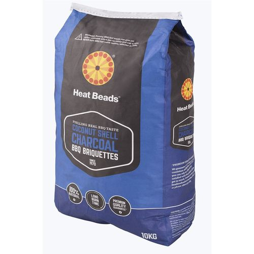 Heat Beads® 10kg Coconut Shell Charcoal BBQ Briquettes