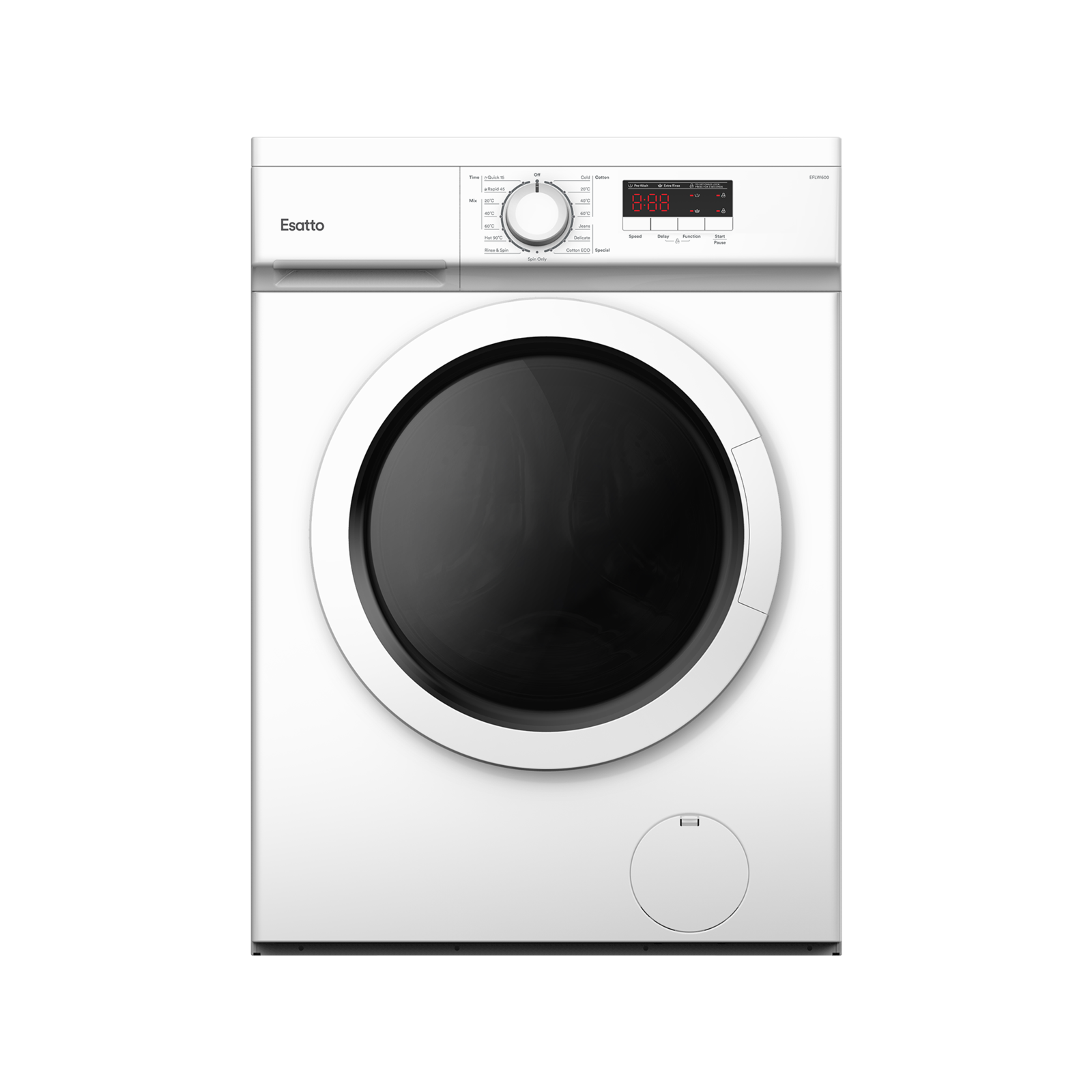 Esatto 6kg Front Load Washing Machine EFLW600
