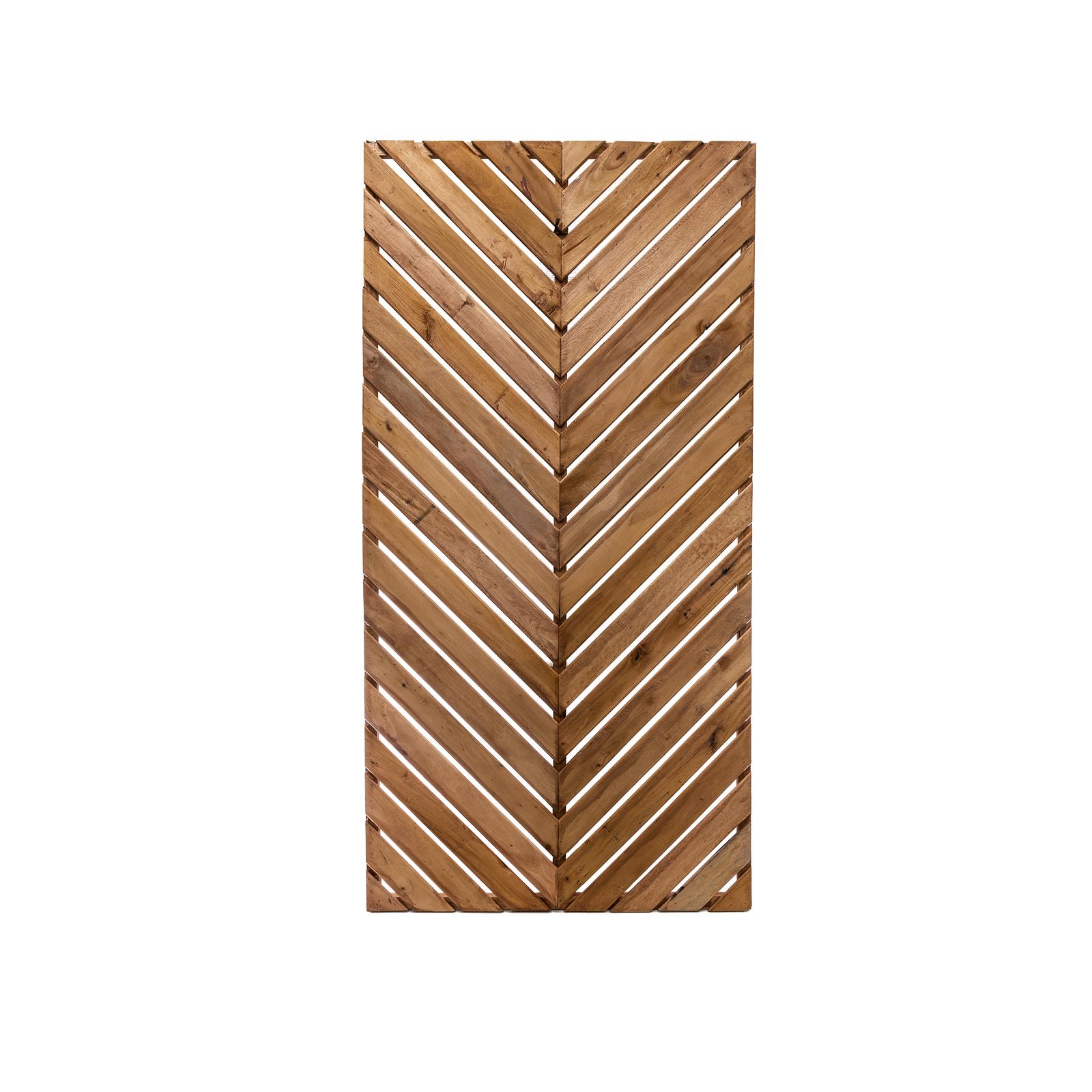 Lattice Makers 1800 x 900mm Herringbone Hardwood Screen Panel