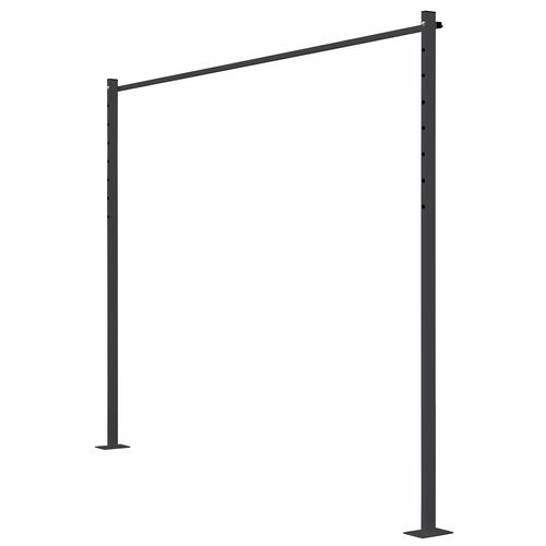 Austral 2.4m Monument Fold Down Clothesline Accessory Ground Mount Kit Plated