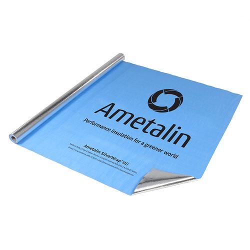Ametalin 1350mm x 30m SilverWrap MD Reflective Wall Insulation