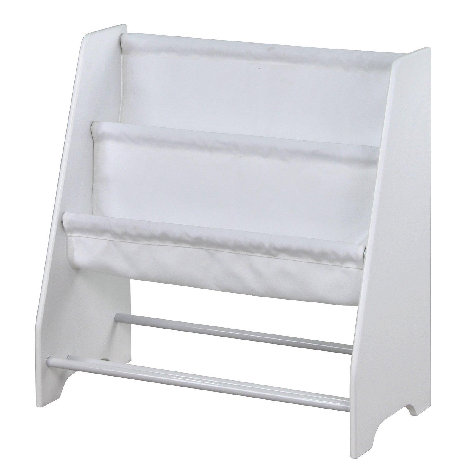 Flexi Storage Kids White Sling Fabric Storage Unit