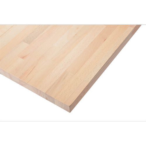 2200 x 600 x 26mm Beech Laminated Panel