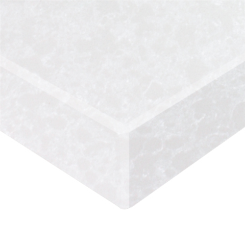 Essential Stone 40mm Round Creative Stone Benchtop - White Pearl