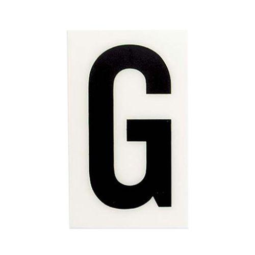 Sandleford 60 x 35mm G White Self Adhesive Letter