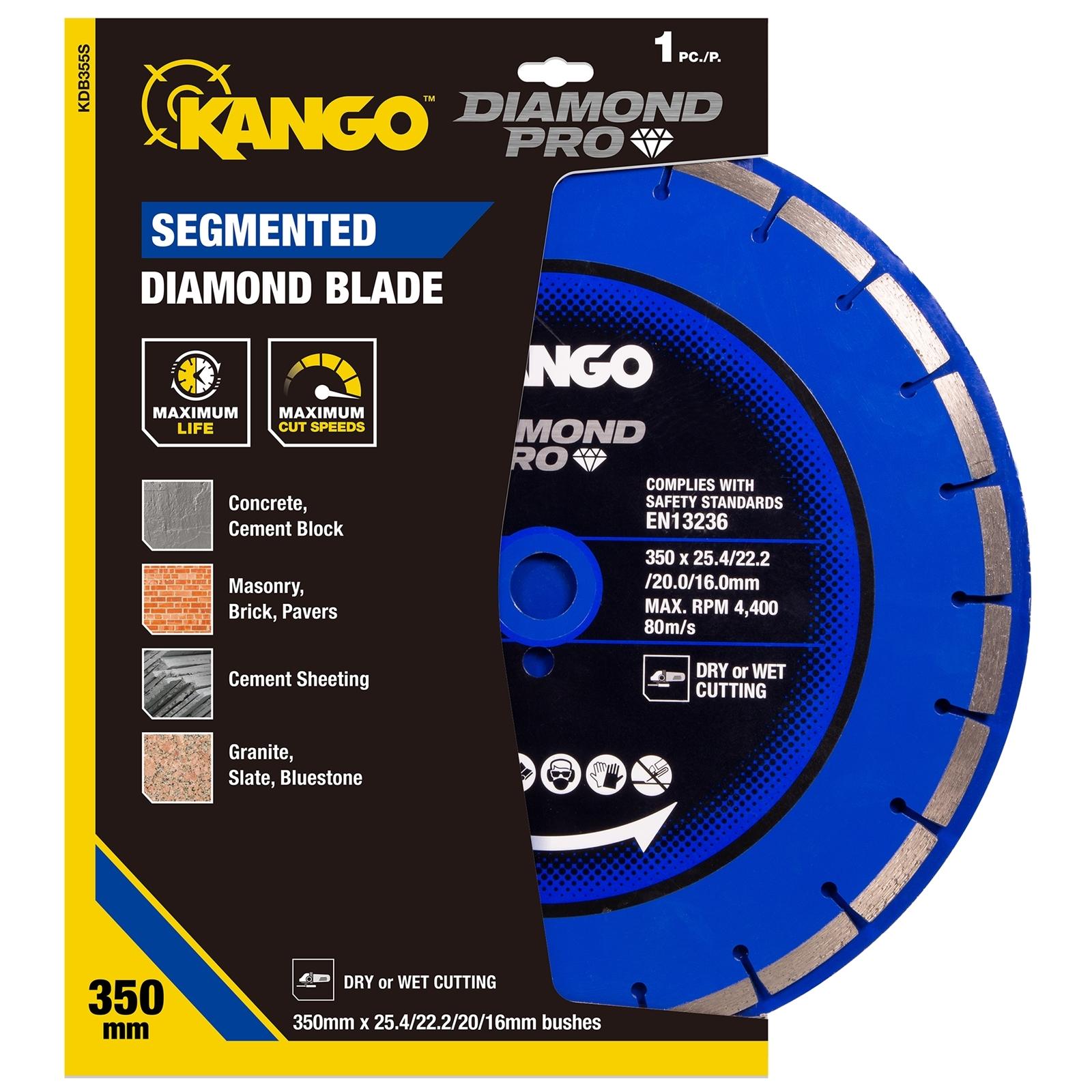 Kango 350mm Segmented Diamond Blade