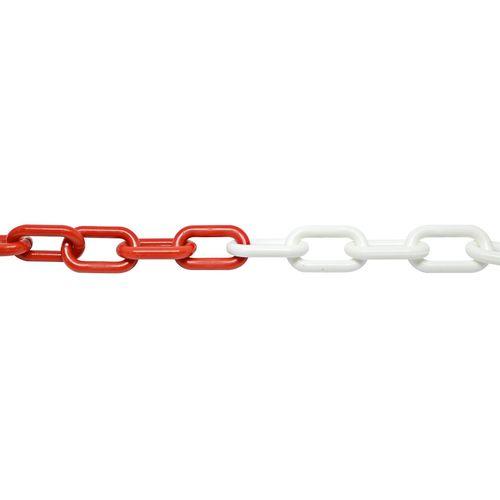 Pinnacle 8mm x 10m Red/White Plastic Chain