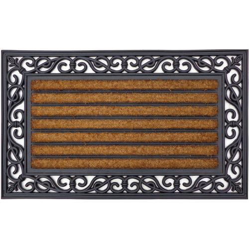 Madras Link Synthetic Coir / PVC Outdoor Mat