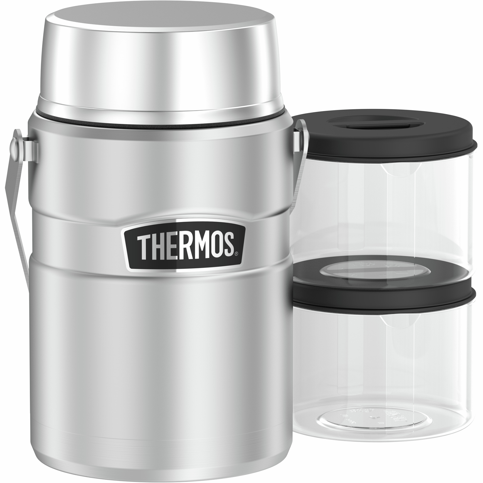 Thermos® 1.39L Stainless King™ Big Boss™ Vacuum Insulated Food Jar