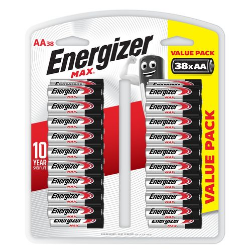 Energizer Max AA Battery - 38 Pack