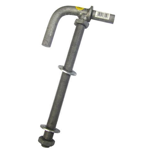 Gartner 16 x 200 x 40mm Gudgeon Lock Thru Post