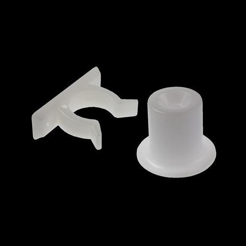 Adoored 40mm White Short Door Clip