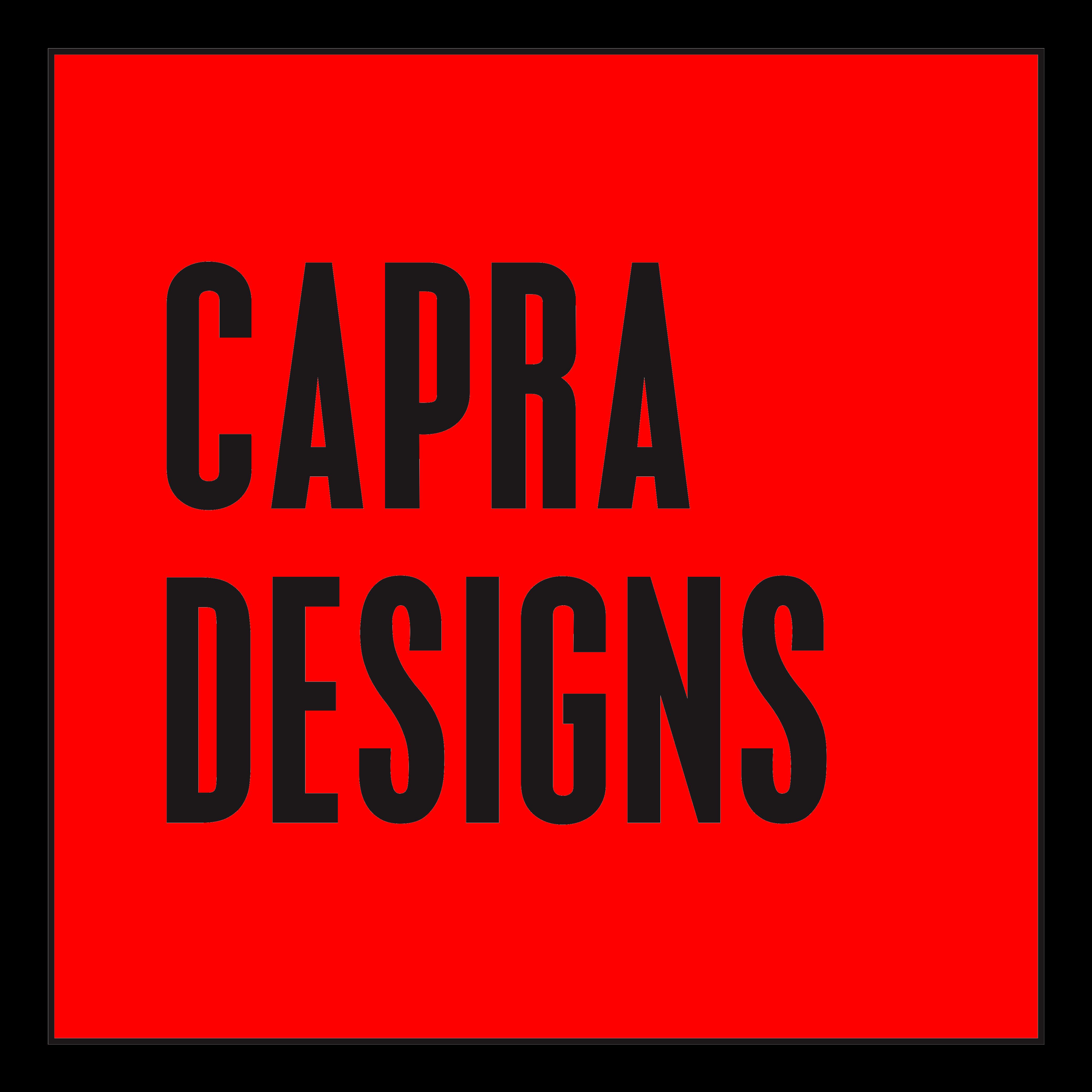 Capra design logo