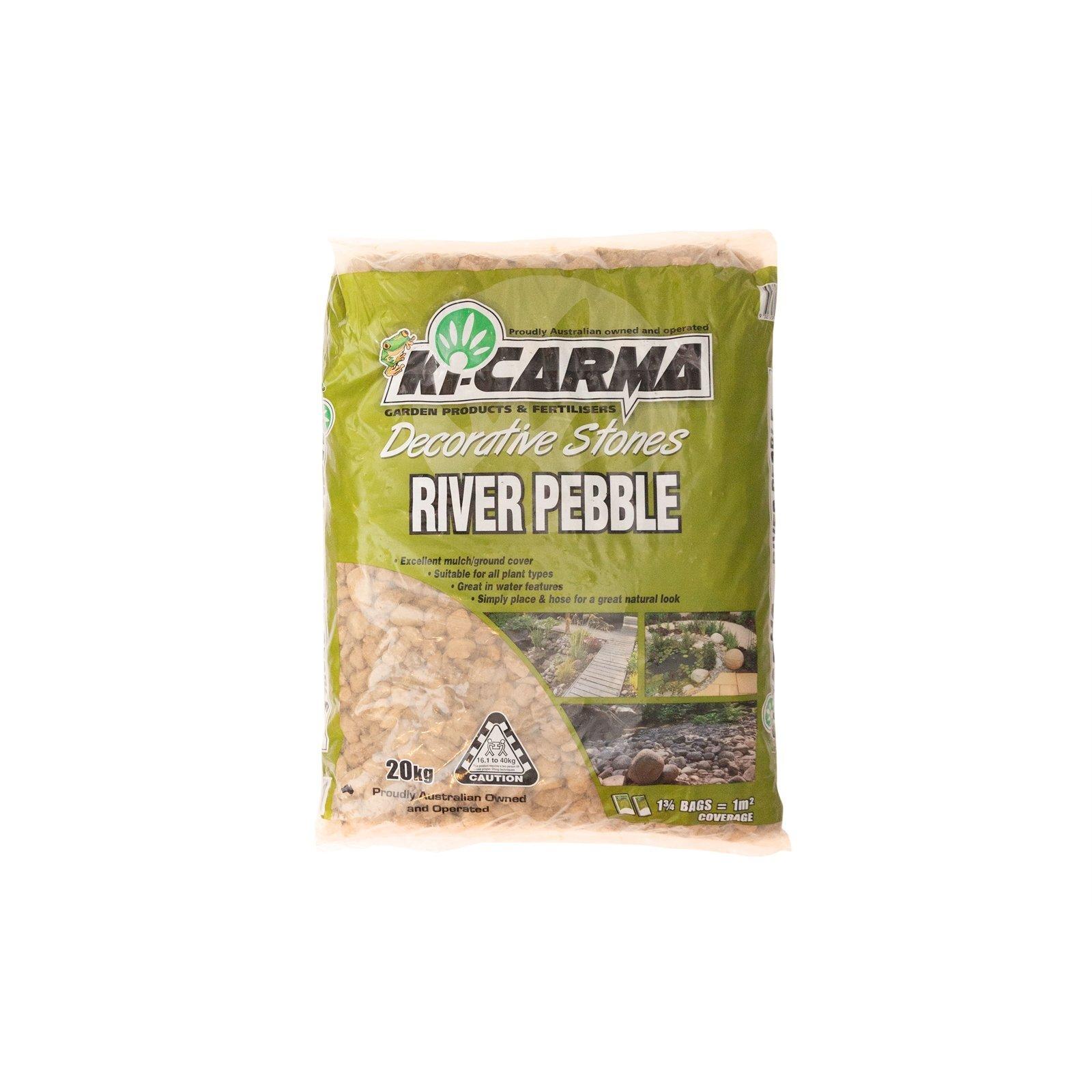 Ki Carma 20kg River Pebble Landscape Stones
