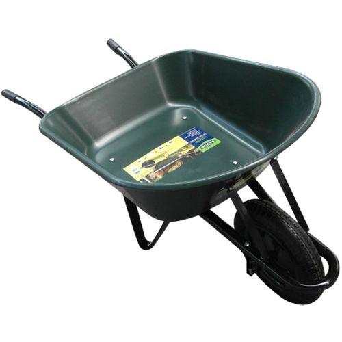 Saxon 60L Poly Tray Garden Wheelbarrow