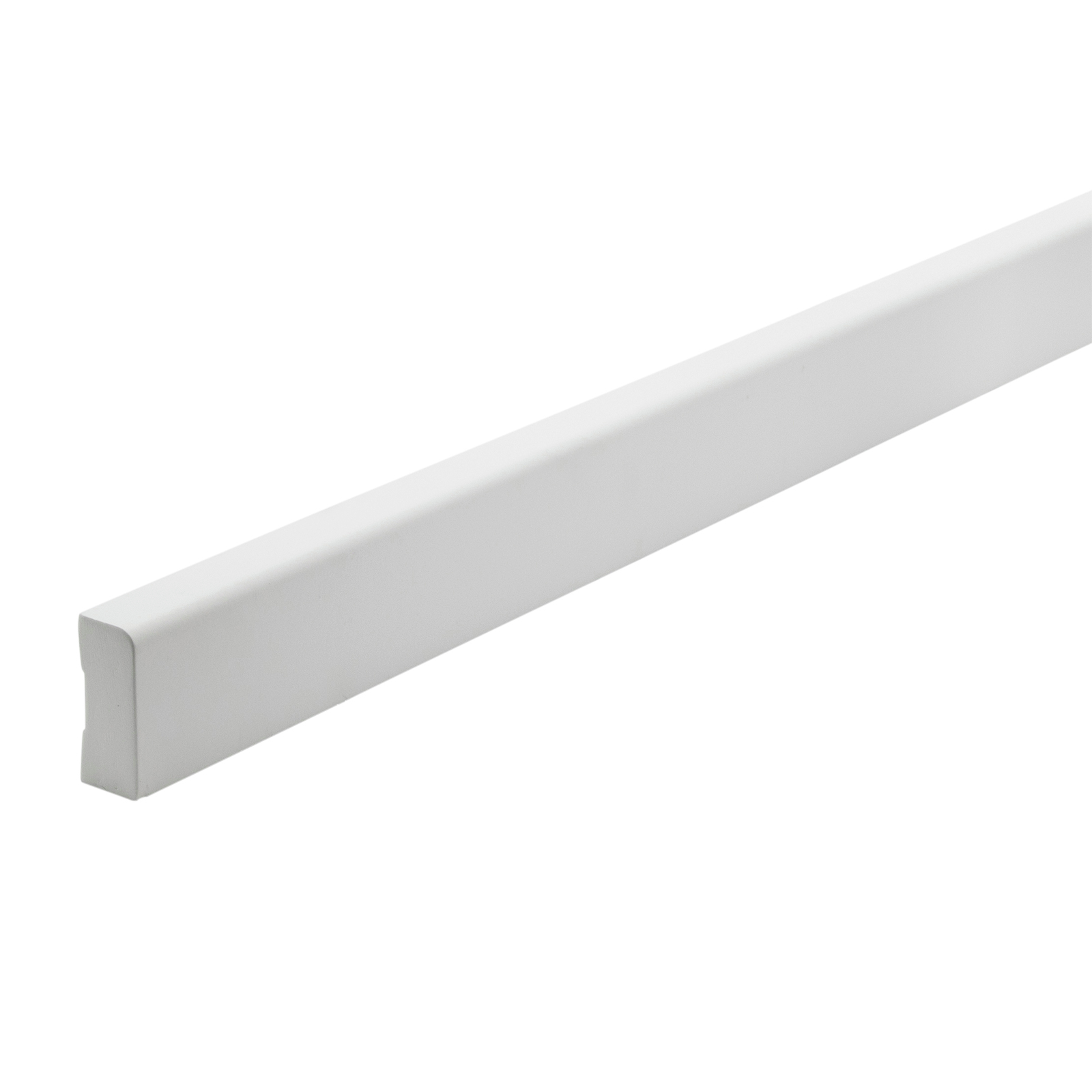 Woodhouse EdgeLine 42 x 18mm 5.4m Pencil Round White Primed Finger Jointed Pine Moulding