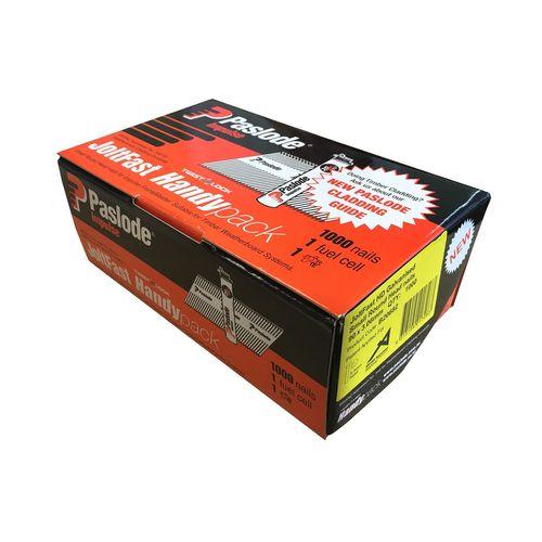 Paslode 90 x 3.06mm Joltfast Impulse HD Galvanised R-Head - 1000 Box