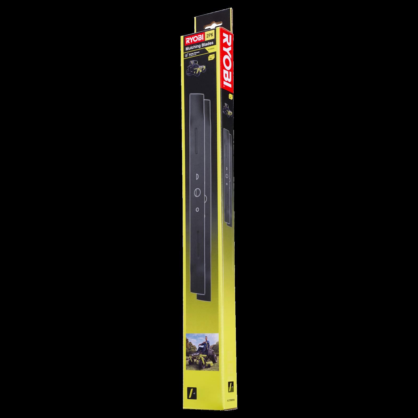Ryobi ZTR Mower Mulching Blades - 2 Pack