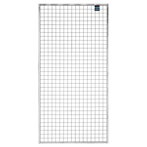 RapidMesh 1800 x 900mm Framed Silver Wire Mesh Panel