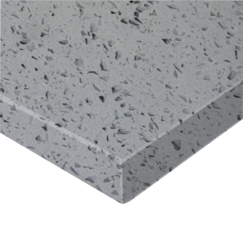 Essential Stone 20mm Square Savvy Stone Benchtop - Crystal Grey
