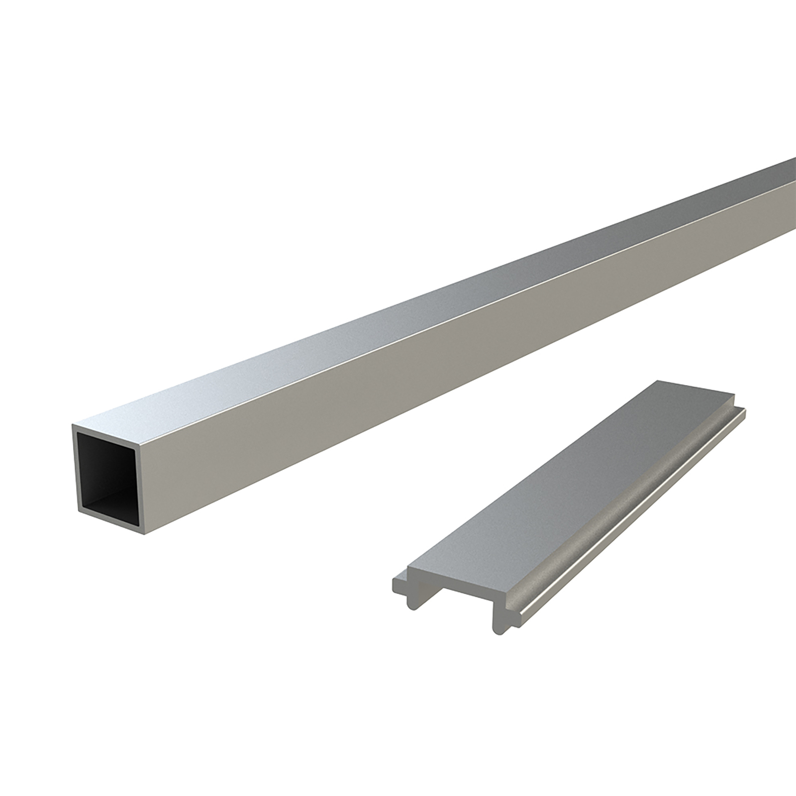 Peak Products 1800mm Silver Aluminium Balustrade Standard Baluster And Spacer Kit