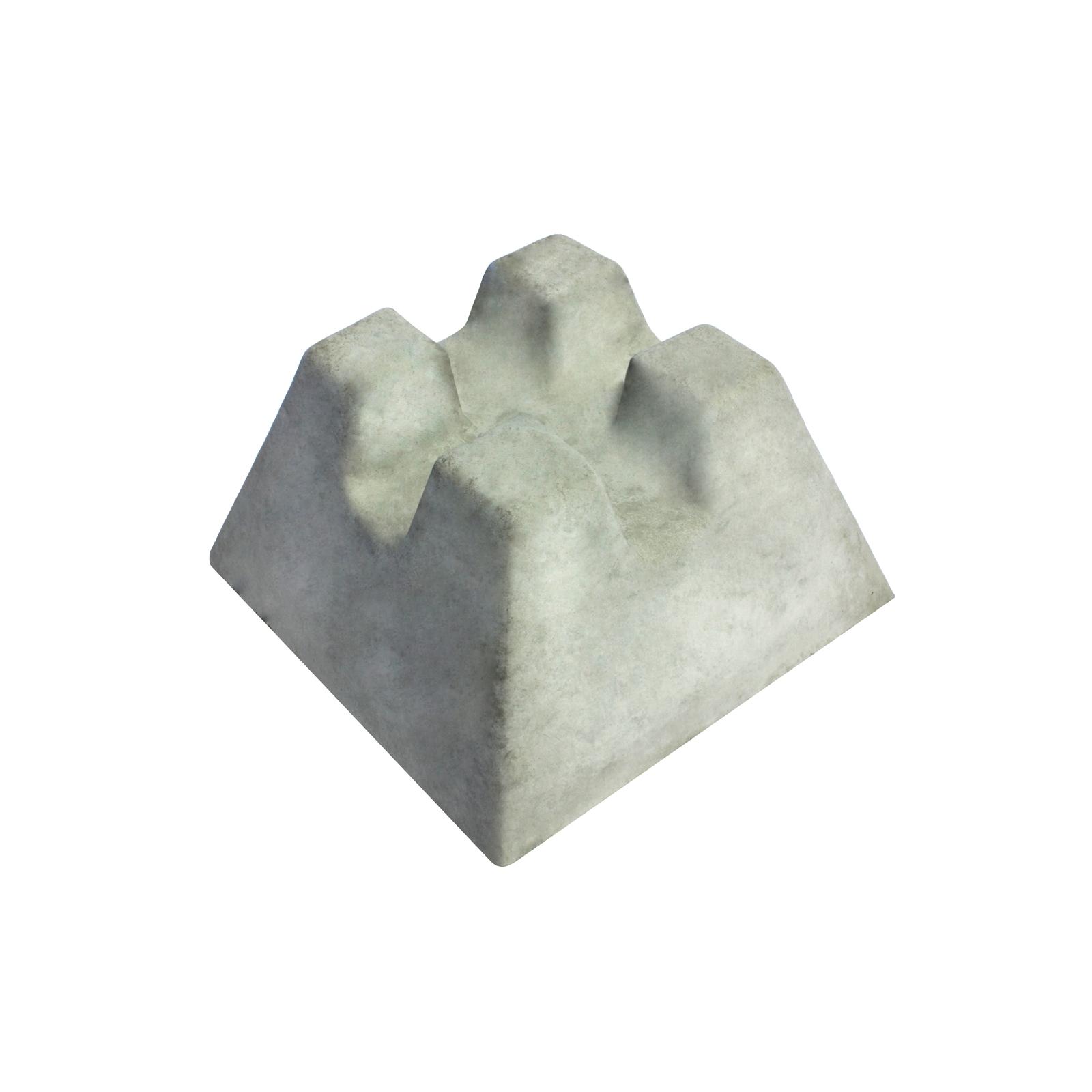 DEKO 250 x 150 x 150mm Instant Concrete Foundation Block