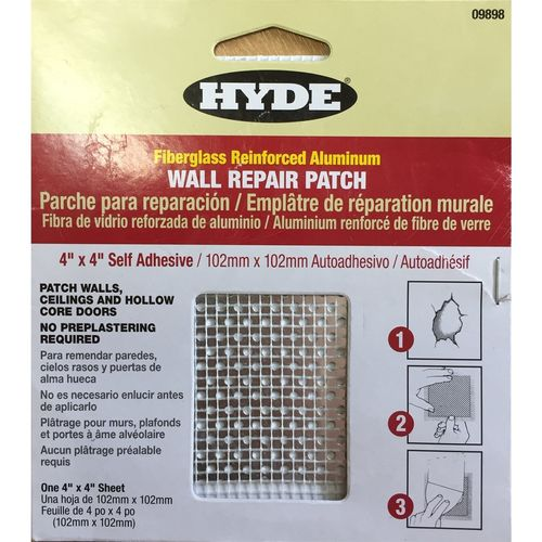 Hyde 102mm x 102mm Self Adhesive Wall Patch