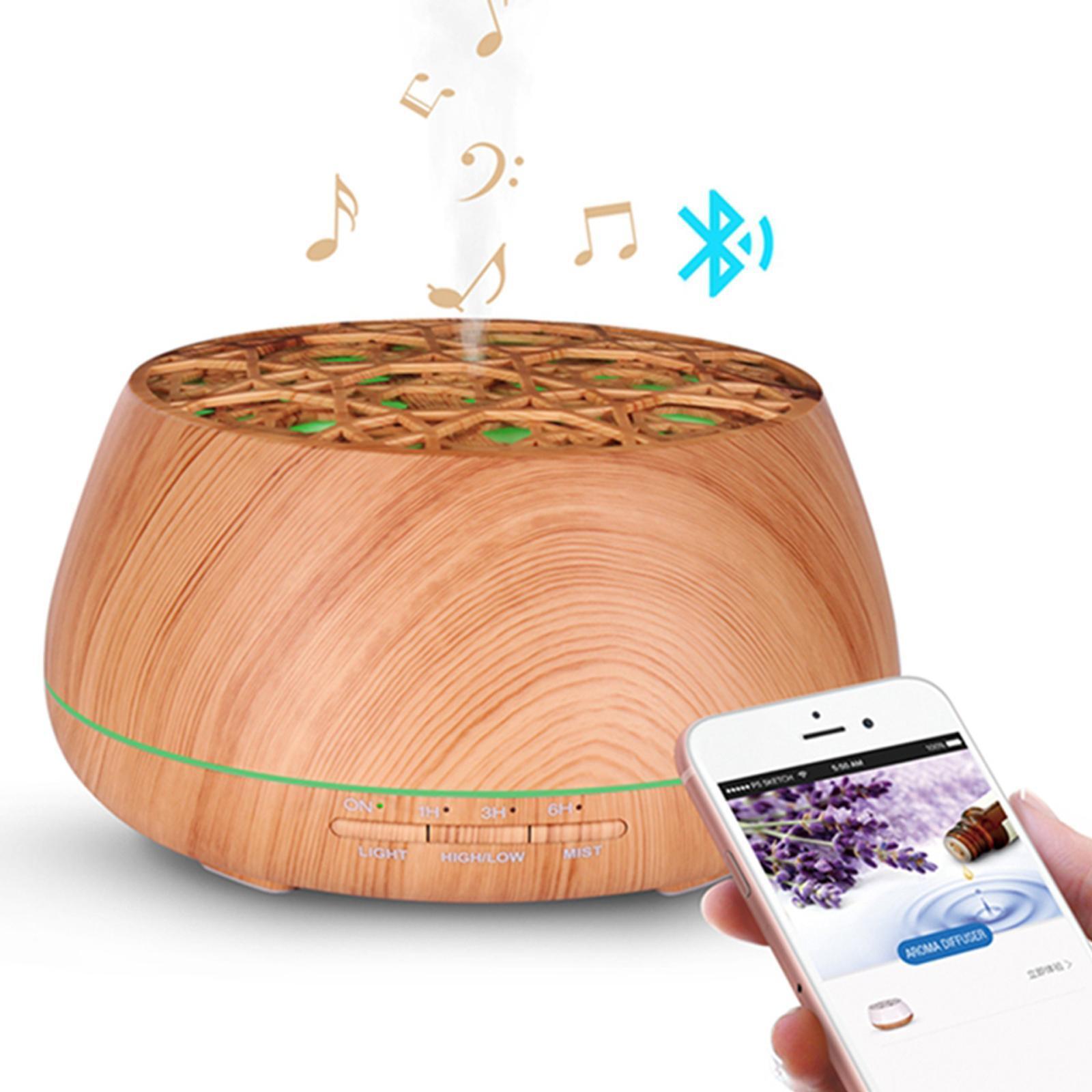 TODO 400ml Humidifier Aromatherapy Diffuser Bluetooth Speaker + APP