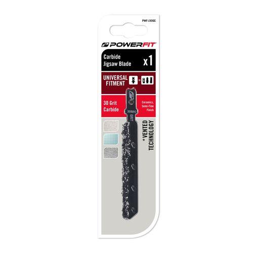 PowerFit 30 Grit Carbide Jigsaw Blade