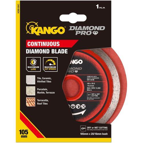 Kango 105mm Continuous Diamond Blade